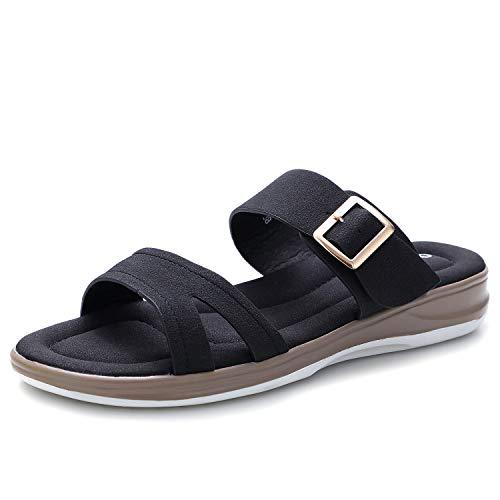 Sandalias Mujer Verano Planas Sandalias Senderismo Planos Comodos Casual Chanclas Zapatos Mujer...