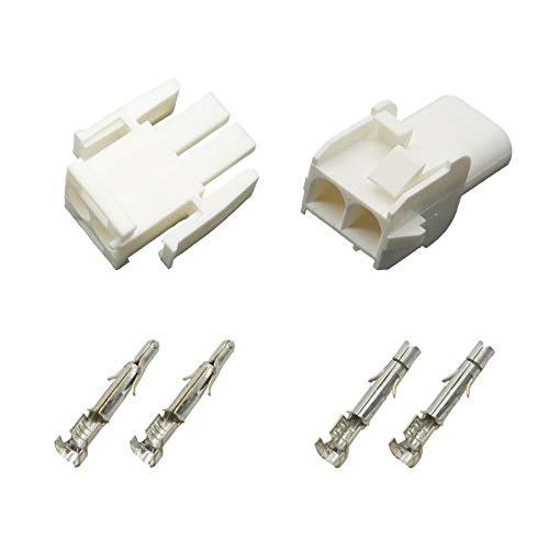 Stecker Set Steckverbinder Universal Mate N Lok 2-polig incl. Kontakten