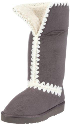 ESPRIT Uma Stitch Boot Y13022, Damen Stiefel, Grau (dark grey 040), EU 36