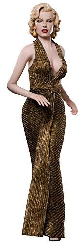 Star Ace–Marilyn Monroe Figur, Gold, 29cm (stcmmsa0016)