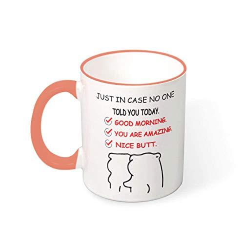 Mug Nice Butt of You - Taza de cerámica de alta...
