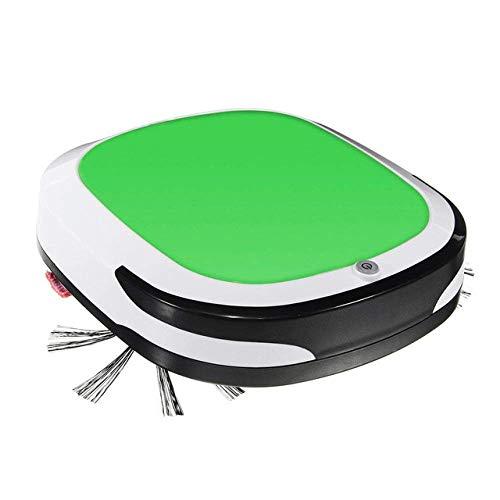 WCY Robot de Limpieza Recargable Inteligente Robot Aspirador en seco Barrido húmedo sin Cuerda automática de Polvo Sweeper Máquina for Limpieza del hogar, (Color: Rojo) (Color: Verde) yqaae