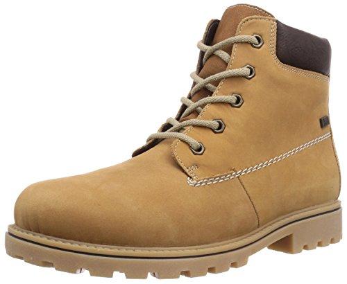 Rieker Z1430-23 buty damskie z krótką cholewką, brązowy - Braun Curry Schoko 23-39 EU
