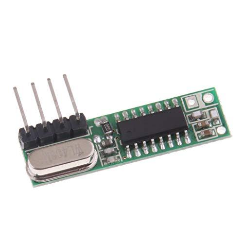 Baoblaze Superheterodyne RF Module de Récepteur sans Fil Basse Consommation 433mhz
