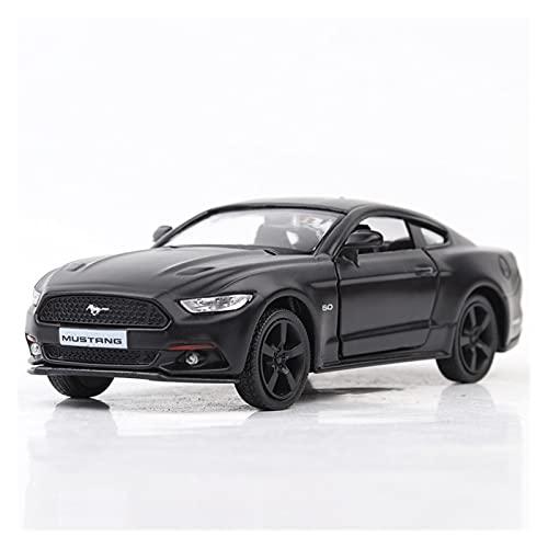 Kits Juguetes Modelos Coches De Moda para Ford Mustang 1:36 Simulación De Aleación De Fundición A Presión Modelo De Coche para Niños Colección Expresión De Amor
