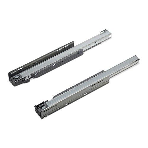 1 Paar (L/R) Blum Legrabox Korpusschienen Nennlänge: 500 mm/Modell 753.5001B / Stahl verzinkt/Tragkraft 70 kg/Schubladenschienen Vollauszüge von SO-TECH®