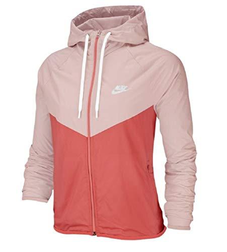 Nike NSW Women Windbreaker Jacke (M, Rose)