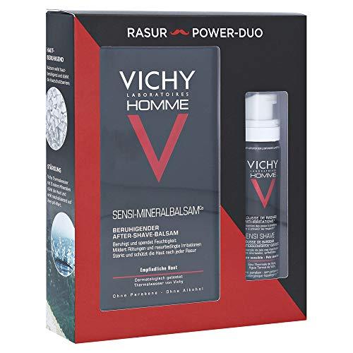 VICHY HOMME Rasur & sensitiv-Balsam x-mas Coffret 1 P