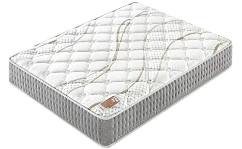 avis matelas ressort ensachés professionnel sensoreve – Essem 140x190cm Mattress – Double Technology: Pocket Spring + High Foam…