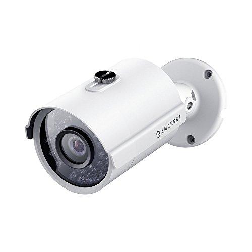 Amcrest ProHD Outdoor 1080P POE Bullet IP Security Camera - IP67 Weatherproof, 1080P (1920 TVL), IP2M-842E (White)
