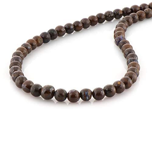 NirvanaIN korn halskette edelstein mehrfarbenhalsketten für damen mädchen boho korn handgemachten indian beach edelstein halsketten...