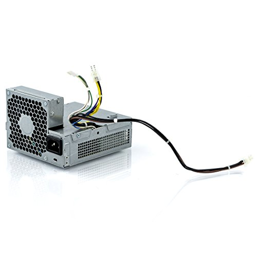 HP 508151-001 Power supply - Input voltage 100-240VAC, 50/60Hz, 240 watts output, standard rating - For Small Form Factor (SFF) PC