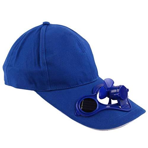 Cappello Con Solar Ventilatore Freddo Non Sono Necessarie Batterie Bicicletta Arrampicata Estate Sport Outdoor