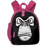 ゴリラ 迷子防止リュック バックパック 子供用 子ども用バッグ ランドセル 高品質 レッスンバッグ 旅行 おでかけ 学用品 子供の贈り物