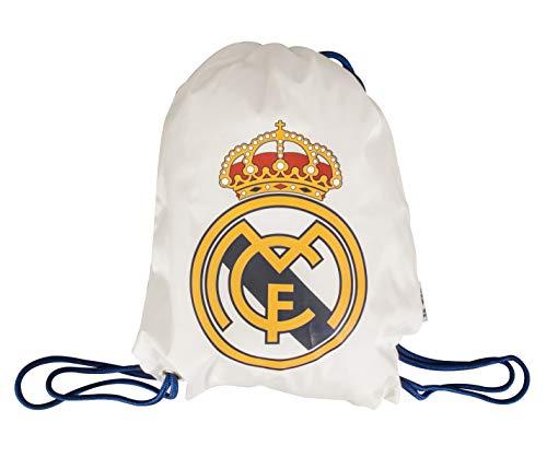 Real Madrid Kinder Turnsack, Weiß, Einheitsgröße