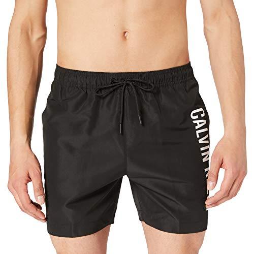 Calvin Klein KM0KM00570,BEH,S Costume a Pantaloncino, Pvh Nero, S Uomo