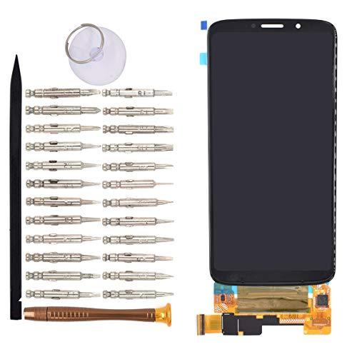 VEKIR Negro Moto Z3 Pantalla LCD Pantalla táctil digitalizadora reemplazo Compatible con Motorola Moto Z3