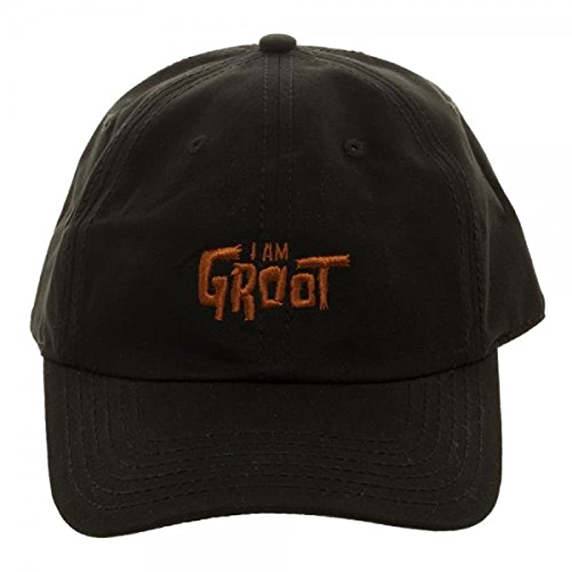 Bioworld Guardians Of The Galaxy I Am Groot Embroidered Dad Hat