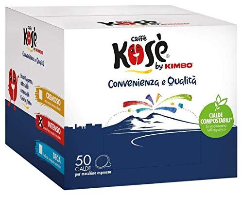 CAFFÈ KOSÈ by KIMBO - INTENSO - Box 50 PADS ESE44 7g
