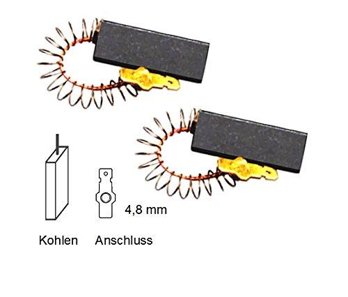 Kohlebürsten ersetzt Bosch T-Nr.154740,Siemens WH5029101