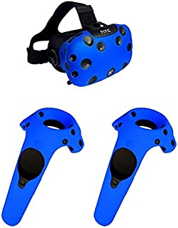 Case for HTC Vive Headset VR Silicone Case Cover VR Glasses Helmet Controller Handle Case Skin Shell Virtual Reality Acces...