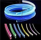 20ft PMMA Plastic Optic Fiber Side Glow Cable...