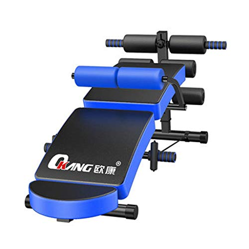 PIGE Multifunctionele rug-board-fitnessapparaten Home Sit-Up bankdrukken vogel fitness buikbord vouwen AB kruk commerciële halterkruk