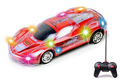 Haktoys Light Up Racing Red...
