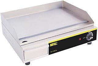 Encimera de Buffalo Eléctrico Parrilla 525x 450x 200mm rejilla de cocina de acero inoxidable