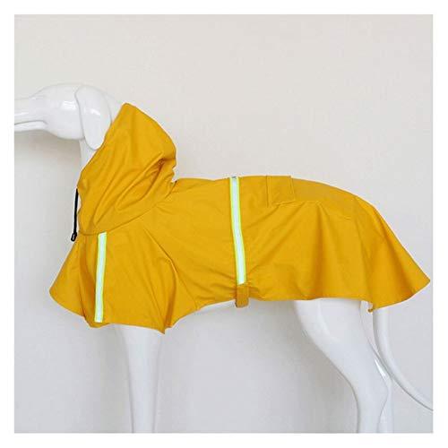 WNFYES Płaszcz przeciwdeszczowy dla psa Odbijający psa deszczowe wodoodporne ubrania dla zwierząt odkryty płaszcz żakiet przeciwdeszczowy dla małych średnich dużych psów