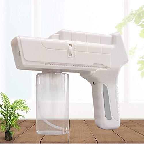Cordless Ricaricabile ULV spruzzatore, 18W Portatile Vapore spruzzatore Manuale Multi-Purpose polverizzatori Regolabile Nebbia Volume-Metallo di Alta qualità ugello Bianco