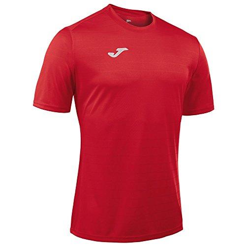 Joma Campus II Camiseta de Juego Manga Corta, Hombres, Rojo, 4XS-3XS