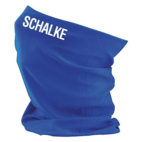Roughtex Multifunktionstuch Bedruckt alle Spielorte Fußball Bundesliga und Vereine 2. Liga Schalke