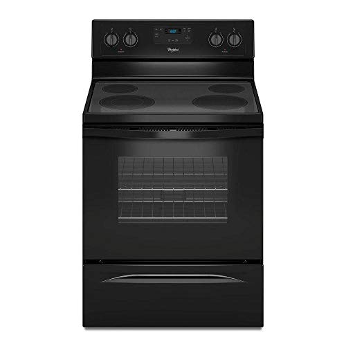 """WHIRLPOOL RANGES, OVENS & COOKTOPS 110867 30"""" 4.8 cu.ft. Single Oven Free-Standing Electric Range, Black"""