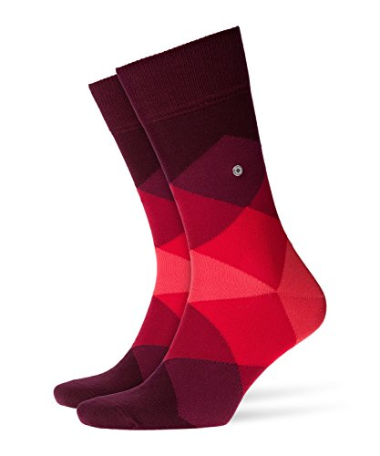 BURLINGTON Herren Socken Clyde - Baumwollmischung, 1 Paar, Rot (Claret 8375), Größe: 40-46