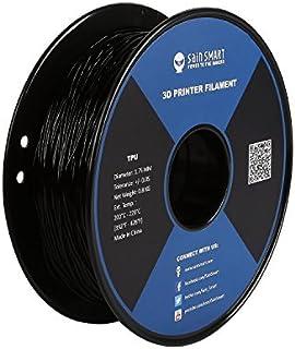 サインスマート 3Dプリンタ用 弾性樹脂 TPU フィラメント 0.8kg 1.75mm径 柔軟性も耐久性も優れる新型素材 ブラック