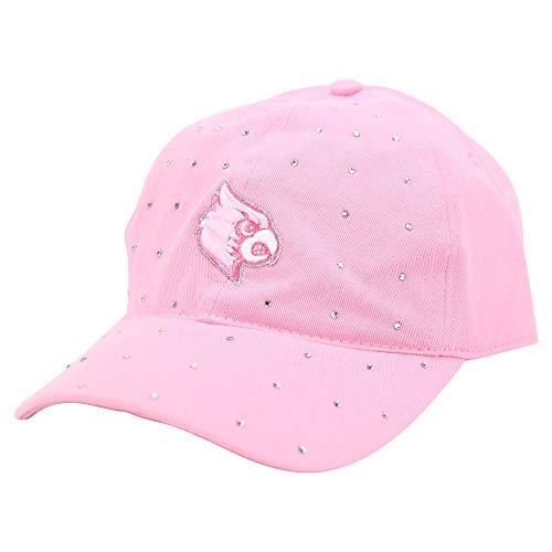 Captivating Headgear NCAA Erwachsene Baseball Cap Verstellbare Mütze (Louisville Cardinals (Pink)