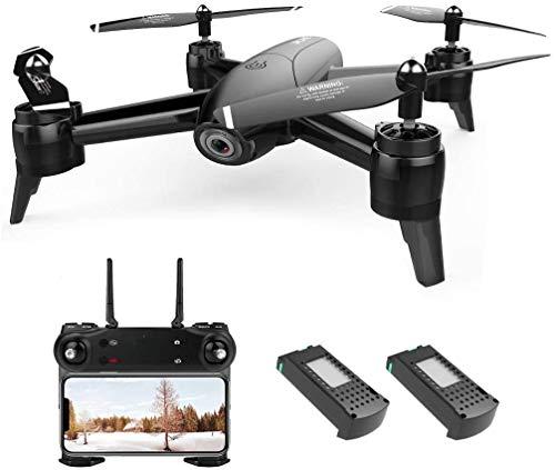 SG106 4K HD Drones con cámara Aplicación de teléfono remoto Control de gestos FPV Drone Alimentación de video en tiempo real Retención de altitud Retorno de una tecla con 2 baterías