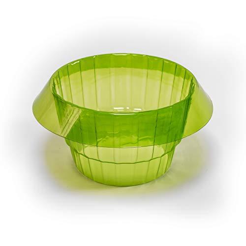 UPP Salatringe | Effektiver Schneckenschutz für Ihre Salatpflanzen und Kohl | Schneckenabwehr ohne Chemie | Schneckenkragen aus Plastik [10 STK.]
