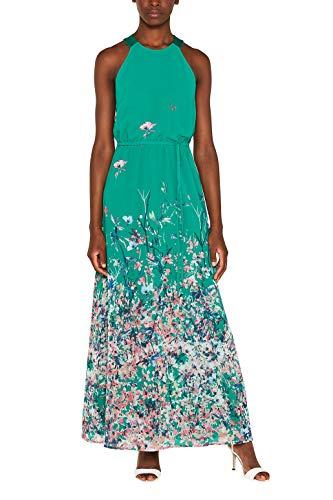 ESPRIT Collection Maxi-Kleid mit Satin-Details
