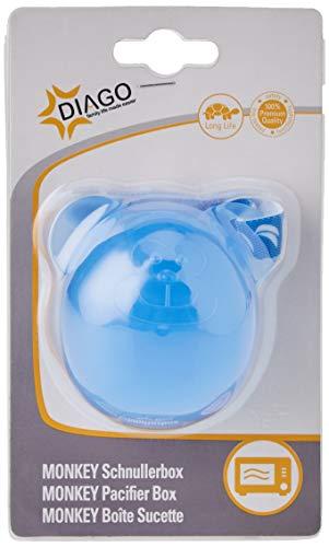 DIAGO Schnullerbox Schnulleraufbewahrung, blau