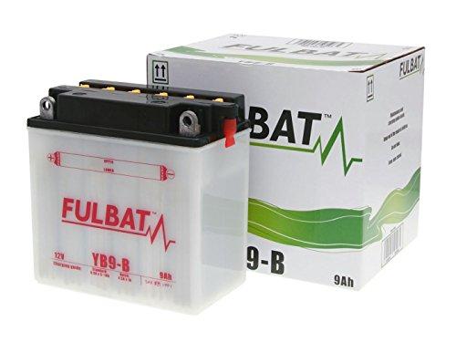 Batterie Fulbat YB9-B für Aprilia Sportcity 50 2T One Bj. 2010-2013 inkl. 7,50 EUR Batteriepfand