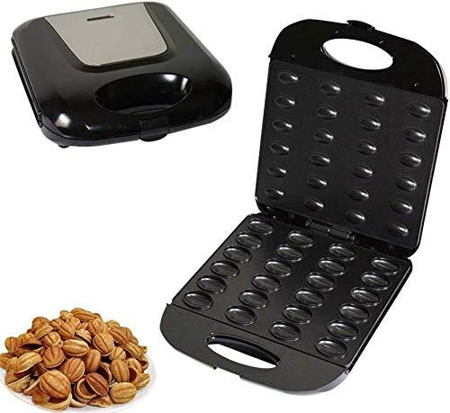 zaizai Electric Walnut Cake Maker, Automatic Mini Nut Waffle Bread Machine Sandwich Iron,Toaster Baking Breakfast Pan Oven