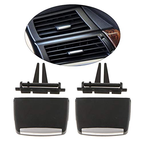 2 Piece Front Air Vent Outlet Tab Clip Kit For Bmw Durability & Practical