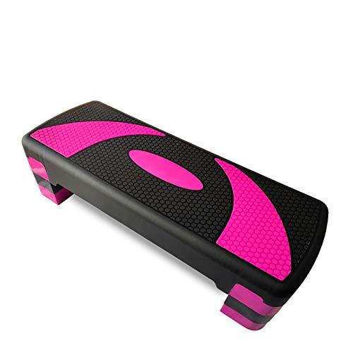 Bluetooth earphone Piattaforma di Esercizio Step 2021 Prodotti Scelta Migliore Allenamento Regolabile Aerobico Stepper in Fitness per la casa Donne Uomini per la Formazione della Forza (Color : D)