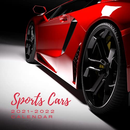 """Sports Cars 2021 - 2022 Calendar: July 2021 to December 2022 