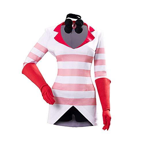 Hazbin Hotel Cosplay Disfraz Angle Dust Cosplay Sudadera Camisa de Manga Larga Disfraz de Halloween