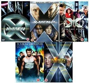 X-Men Complete Collection: X-Men, X-Men 2, The Last Stand, X-Men Origins: Wolverine, First Class by James Marsden