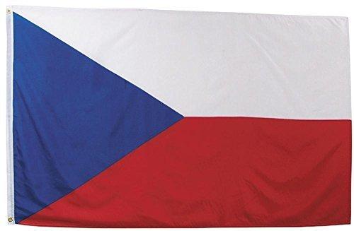 MFH Fahne 90x150 cm Länderflagge WM EM Hissflagge Nationalfahne Deutschlandfahne (Tschechische Republik)