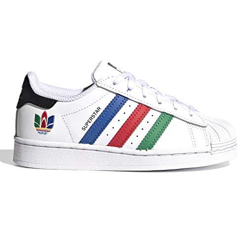 adidas Superstar FW5238 - Zapatillas para niños Bianco 34